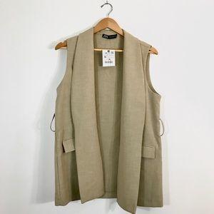NWT Zara Tan Vest